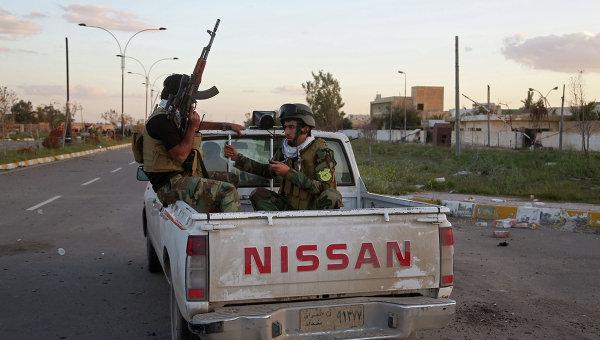 Патрулирование улиц в Ираке, архивное фото
