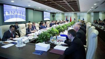 Заседание Совета Евразийской экономической комиссии в Москве
