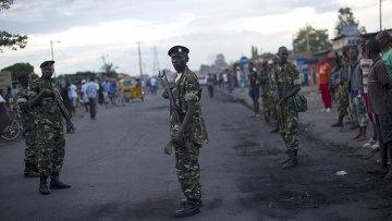 Солдаты в Бурунди. Архивное фото