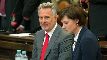 Дмитрий Фирташ в суде Вены