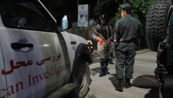 Сотрудники службы безопасности в Кабуле. Архивное