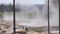 Солдаты эвакуировали раненых на учениях Еж 2015 в Эстонии