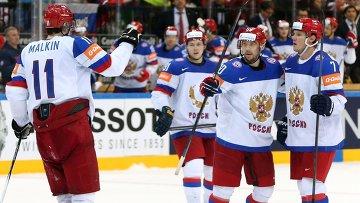 Хоккей. Чемпионат мира - 2015. Финальный матч. Канада - Россия. Архивное фото