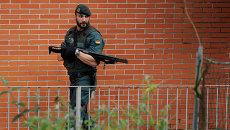 Боец Гражданской гвардии Испании. Архивное фото