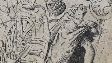 Портрет Уильяма Шекспира, обнаруженный в книге 16-го века The Herball