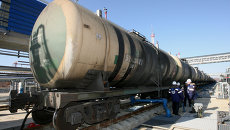 Первый состав с нефтью из Ангарска прибыл в порт Козьмино в Приморском крае