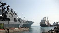 Порт Джибути. Архивное фото