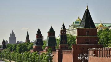Вид на Кремль, архивное фото
