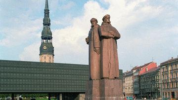 В одной из стран Прибалтики. Латвия