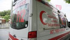 Машина скорой помощи, Турция. Архивное фото