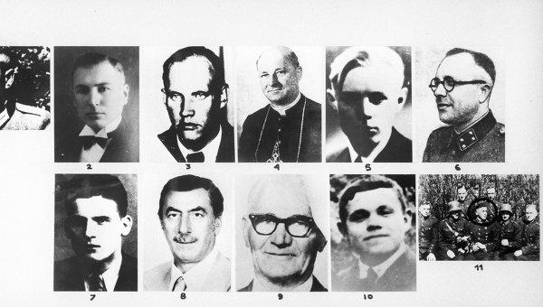 Нацистские преступники. Архивное фото