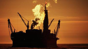 Нефтяная платформа. Архивное фото