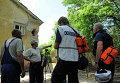 Представители ОБСЕ прибыли на место обстрела в Донецке