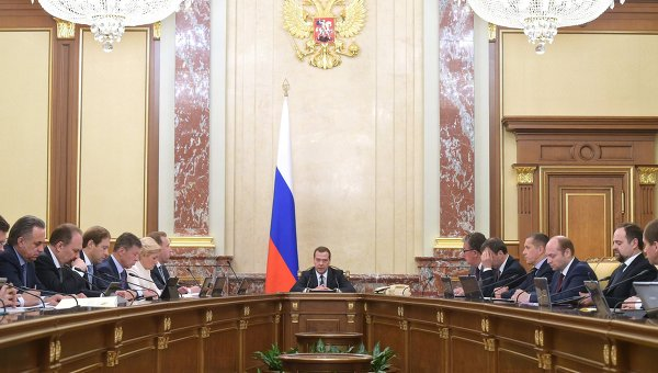 Заседание правительства России. Архивное фото