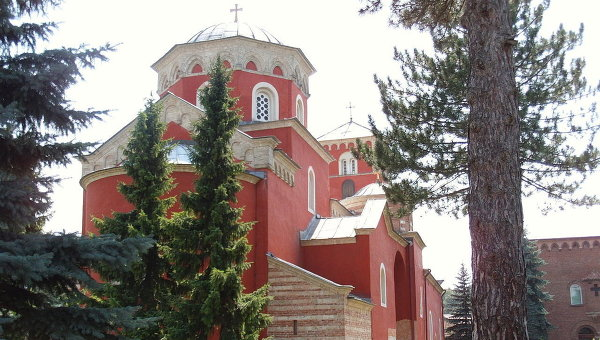 Монастырь Жича в Сербии