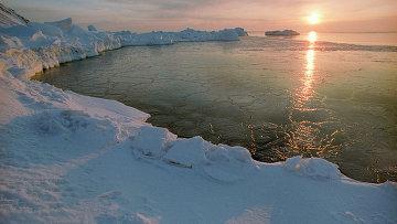 Арктика. Рассвет
