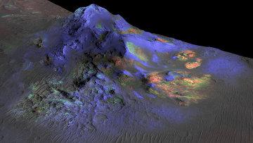 Кратер Алга на Марсе