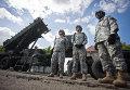 """Армейский зенитно-ракетный комплекс """"Patriot"""" вооруженных сил США"""