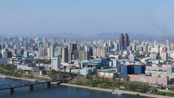 Вид на Пхеньян. Архивное фото