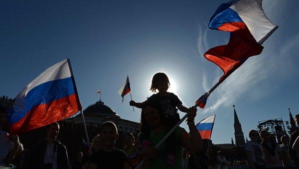 День России. Архивное фото