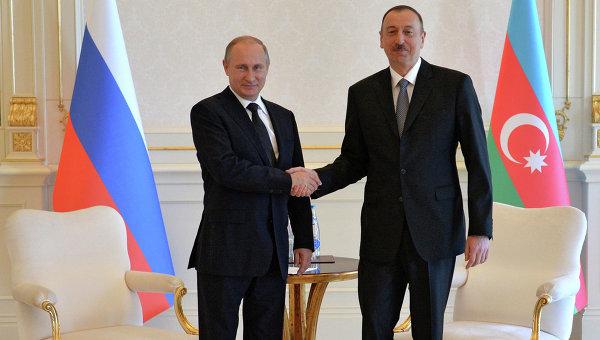 Рабочий визит президента РФ В.Путина в Азербайджан. День второй