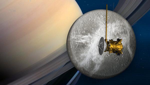 Исследовательский космический аппарат НАСА Кассини. Архивное фото