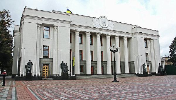 Здание Верховной Рады Украины в Киеве. Архивное фото.
