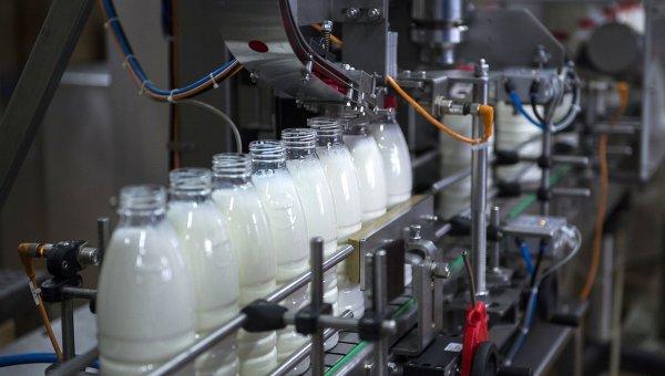 Молочный комбинат в Омске. Архивное фото
