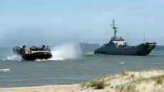 Военно-морские учения Североатлантического альянса BALTOPS-15 в Польше и странах Балтии