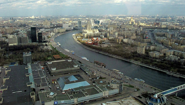 Вид на ЦВК Экспоцентр, архивное фото