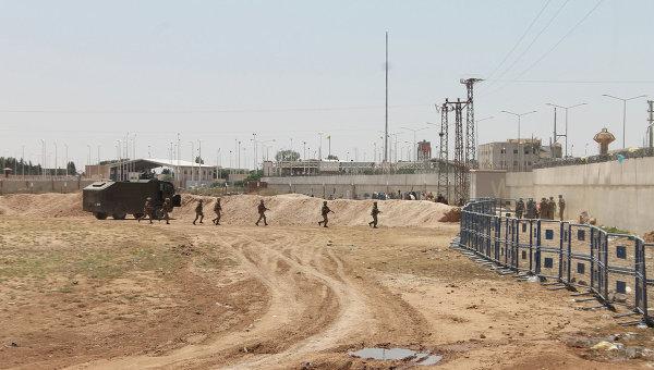 Ситуация на турецко-сирийской границе. Архивное фото.