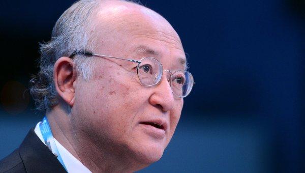 Генеральный директор, Международное агентство по атомной энергии (МАГАТЭ) Юкия Амано. Архивное фото