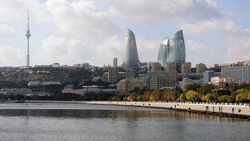 Города мира. Баку. Азербайджан. Архивное фото