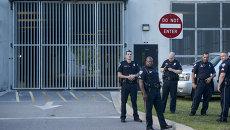 Полиция Южной Каролины, где произошла стрельба в африканской методистской епископальной церкви Эмануэль города Чарлстон. Архивное фото