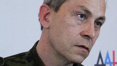 Заместитель командира ополчения Донецкой народной республики (ДНР) Эдуард Басурин. Архивное фото