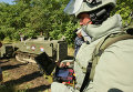 Сапер инженерных войск ВС ЮВО - оператор робототехнического комплекса