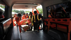 Карета скорой помощи на Филиппинах. Архивное фото