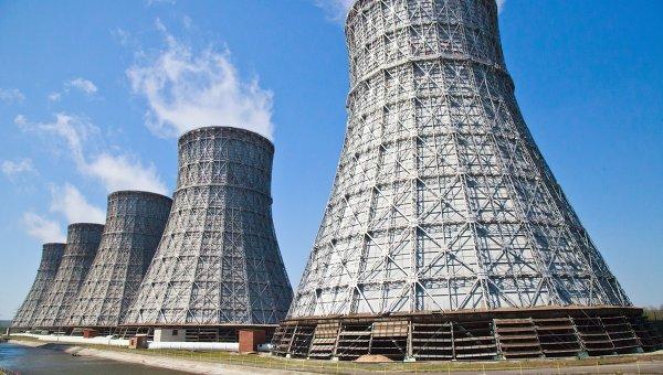 Градирни АЭС, архивное фото