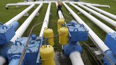 Газовое хранилище под Львовом, Украина