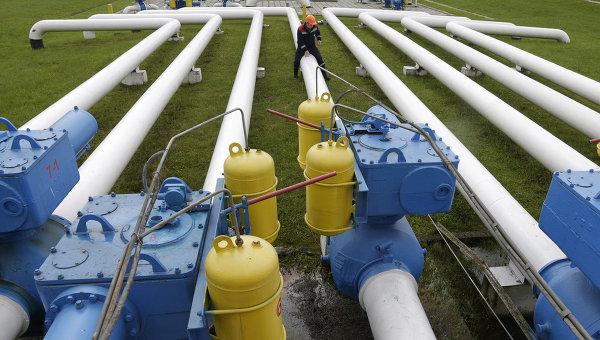Газовое хранилище под Львовом, Украина. Архивное фото
