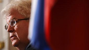 Представитель РФ при Евросоюзе Владимир Чижов. Архивное фоо