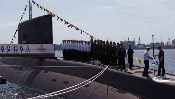 Подводная лодка Старый Оскол. Архивное фото