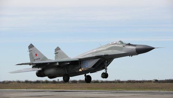 Самолет-истребитель МиГ-29. Архивное фото