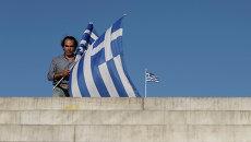 На площади Синтагма в Афинах, архивное фото