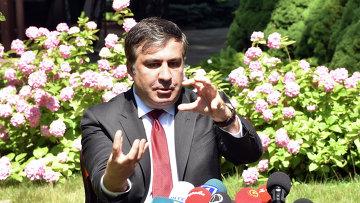Председатель Одесской областной государственной администрации Михаил Саакашвили. Архивное фото