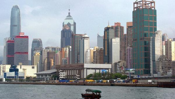 Вид на Гонконг. Архивное фото