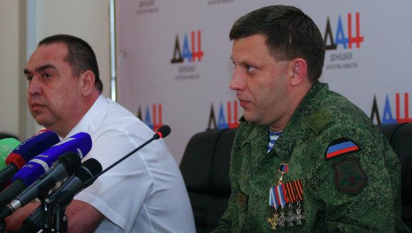 Руководитель ДНР навестил в клинике Плотницкого
