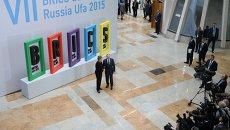 Президент Российской Федерации Владимир Путин и Президент Федеративной Республики Бразилия Дилма Роуссефф