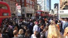 Жизнь без метро: давка в автобусах и очереди на остановках в Лондоне