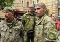 """Митинг """"Правого сектора"""" у здания администрации президента Украины"""